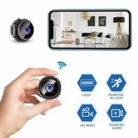 Mini Camera 1080P Camera smart Home Security IR Night Wireless Mini Camcorder Surveillance Wifi Camera 140   Angle Range Mobile