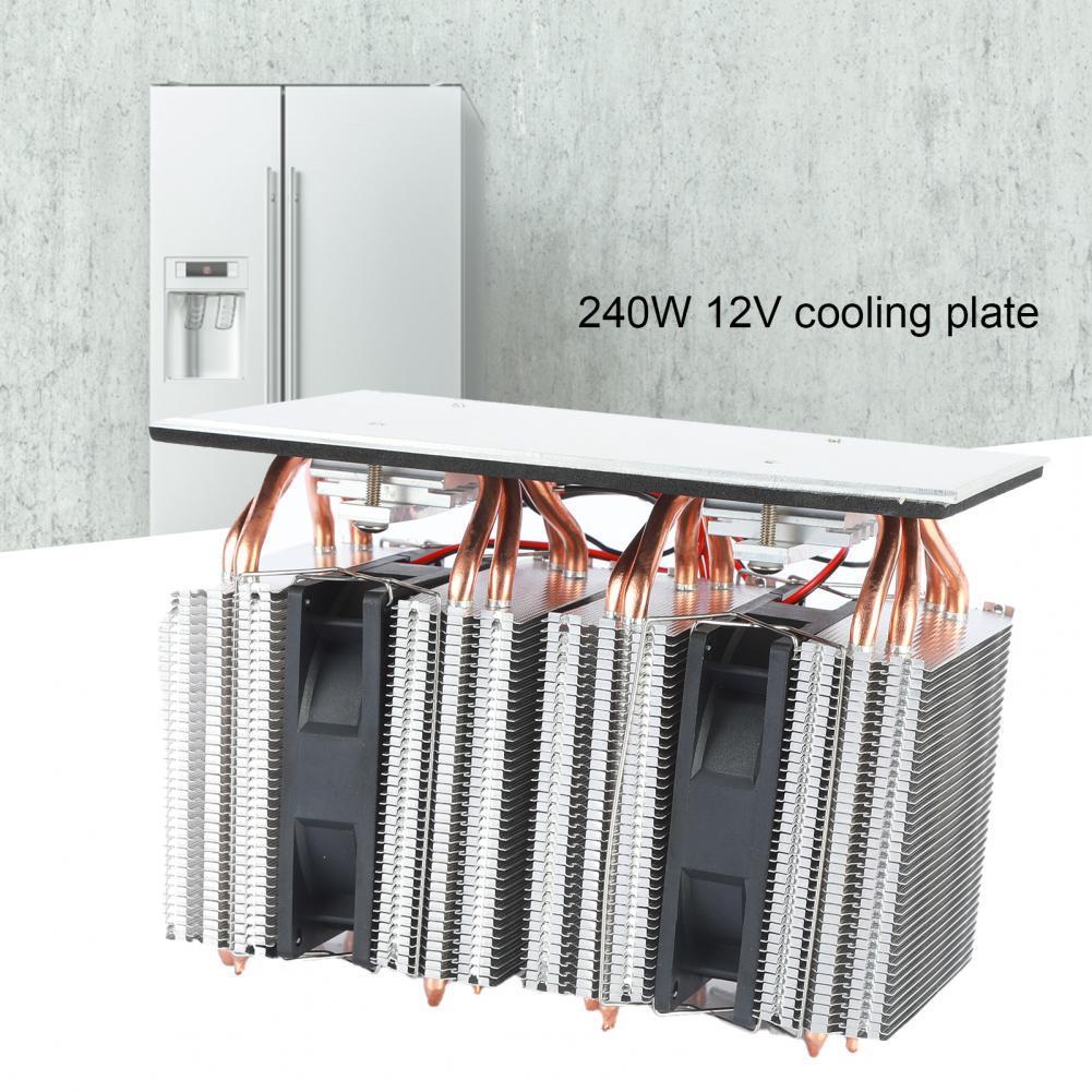 المكونات الإلكترونية المدمجة الحرارية المدمجة الثلاجة 12 فولت الحرارية برودة موثوقية عالية للكمبيوتر