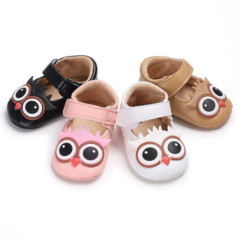 Autumn Soft Sole Girl Baby Shoes PU First Walkers Baby Girl Princess Shoes 0-18 Months Baby Moccasin