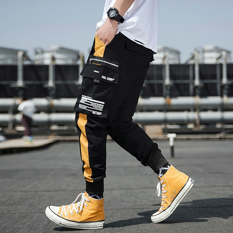 Streetwear Joggers Men Spring Autumn Fashion Sweatpants Men's pants Casual Slim Ankle-length Men Trousers Women's Pants