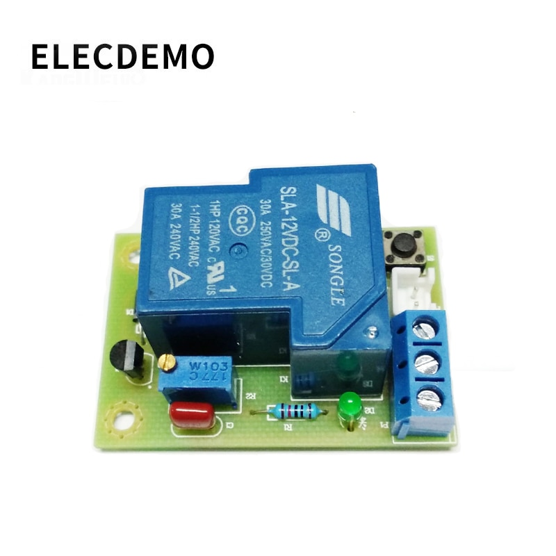 12V 30A Car Battery Excessive Discharge Anti Over Protection Module battery controller discharge protection