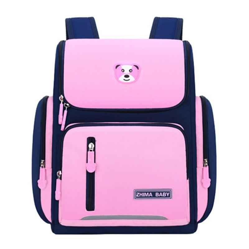 Школьные ранцы для мальчиков, Детский водонепроницаемый рюкзак, школьный рюкзак для детей, милый рюкзак для книг, ортопедический школьный р...
