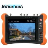 professional cctv tester tools monitor with tdr x9 8inch h 265 4k 8mp 5mp ahd sdi cvbs cctv tester tvi cvi ip camera tester