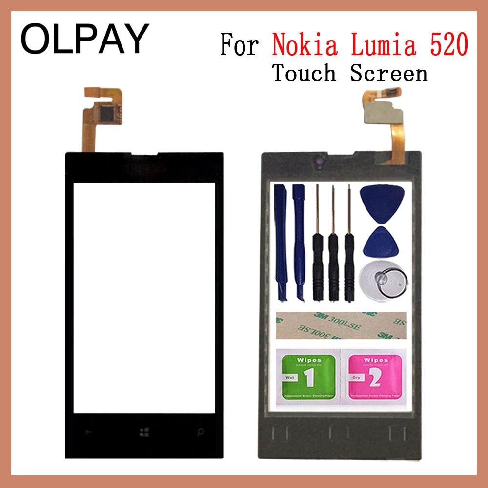 Cristal de la pantalla táctil del teléfono de 4,0 ''pulgadas para Nokia...