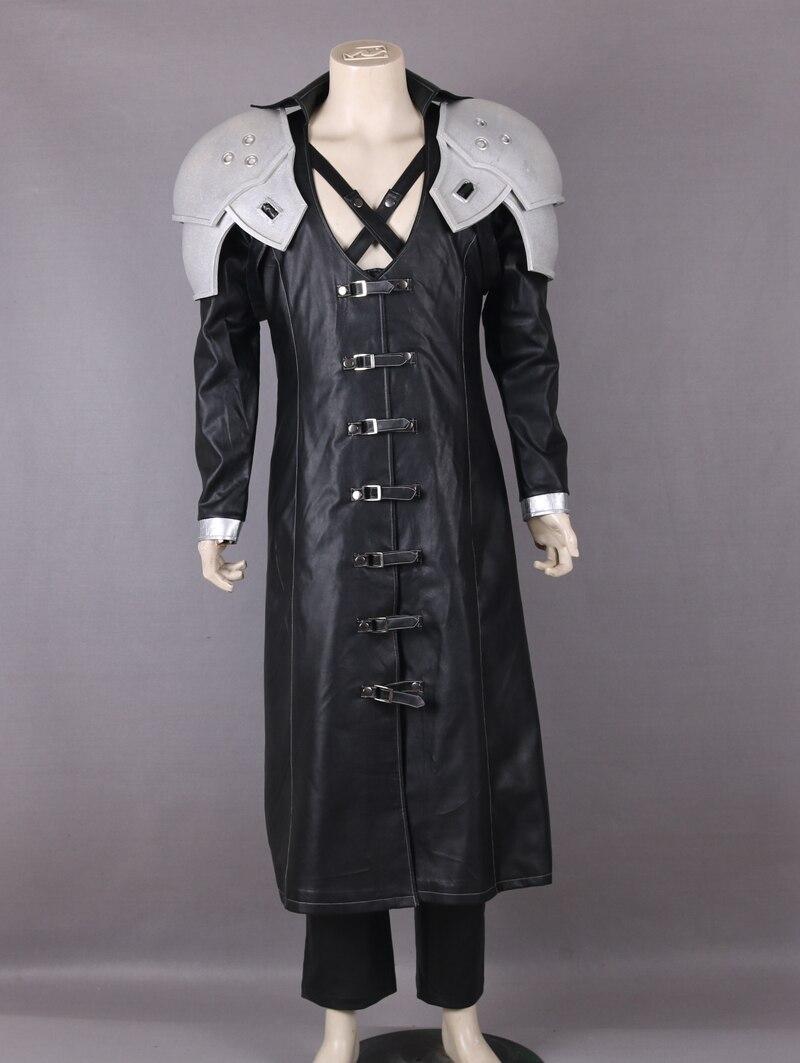 CostumeBuy Game Final Fantasy VII Cosplay Sephiroth Kostuum Outfit Volwassen Mannen Halloween Custom Made