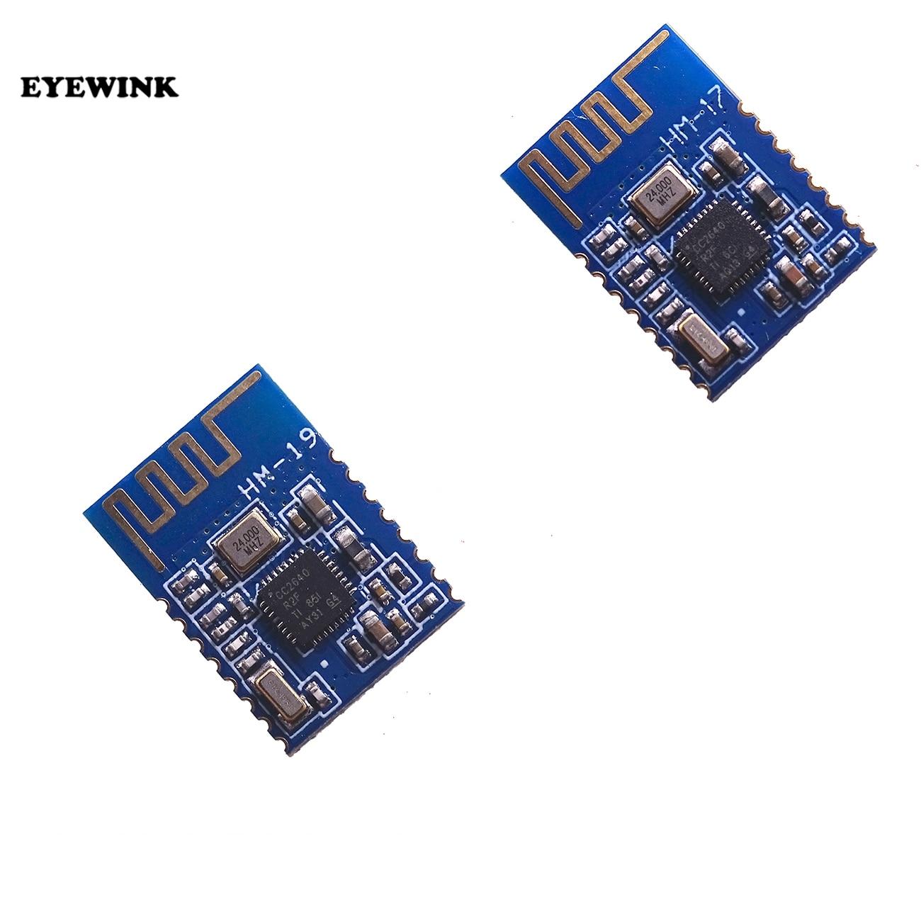 1PCS HM-17 HM-19 CC2640R2F Bluetooth module ble4.0 4.2 5.0 CC2640 Wireless Bluetooth serial port module High speed Smaller