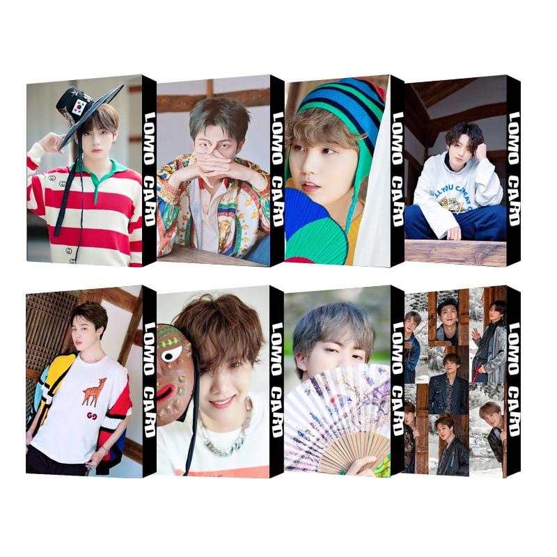 30 Pieces / Set K-POP poster 2019 summer package in korea Lomo Card Photocard SUGA JUNGKOOK JIMIN wall sticker