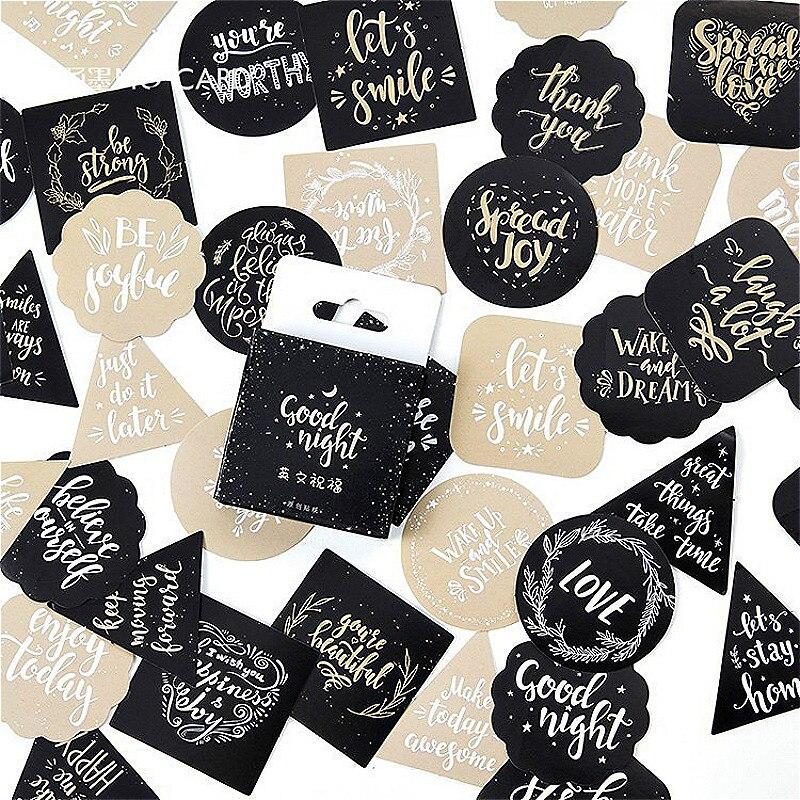 1 paquete precioso inglés Blessing Washi Tape cinta adhesiva práctica pegatina con brillo Kawaii Scrapbooking Sticker etiqueta adhesiva cinta adhesiva