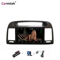 carmitek android car radio gps navigation for toyota camry 2002 2003 2004 2005 2006 stereo multimedia player head unit