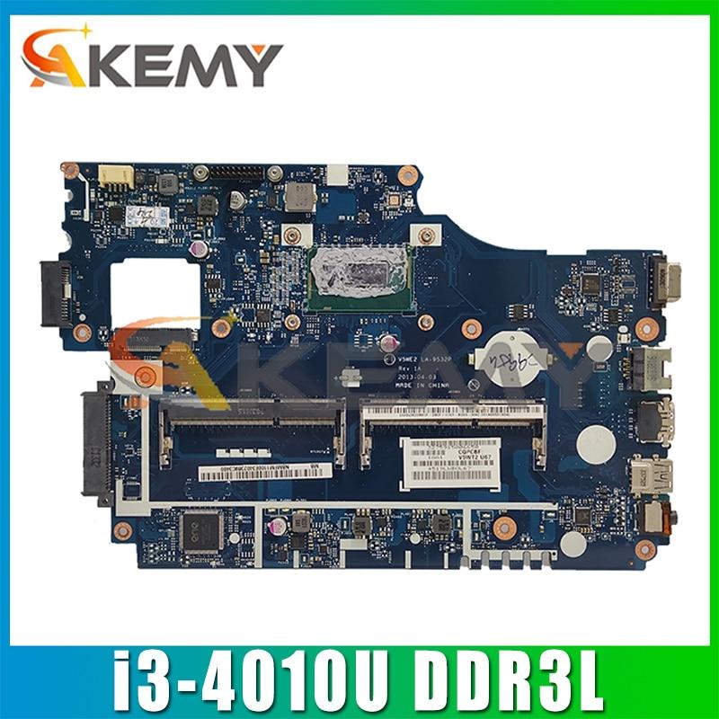 لشركة أيسر أسباير E1-572G TPM255 E1-532 E1-572 اللوحة المحمول V5WE2 LA-9532P NBMFM11006 مع i3-4010U DDR3L 100% اختبار بالكامل