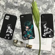 Deku Izuku Midoriya My Hero Academia Phone Case For IPhone 13 Mini 12 11 Pro Max Xs X Xr 7 8 Plus Se