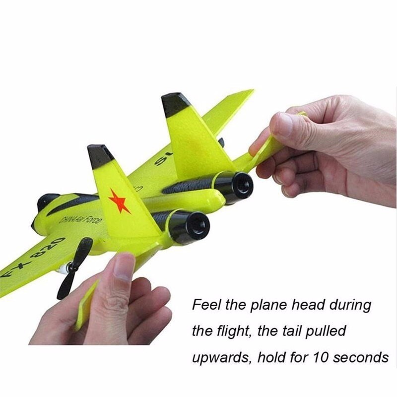 NewFX-620 2.4G 2CH SU-35 Glider RC Remote Airplanes Foam RTF Plane UAV Styrofoam Airplane Children's Toys Assembled Flying enlarge