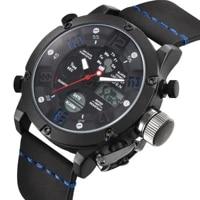 biden casual mens watch fashion male quartz wristwatches dual display luminous calendar alarm waterproof relogio masculino clock