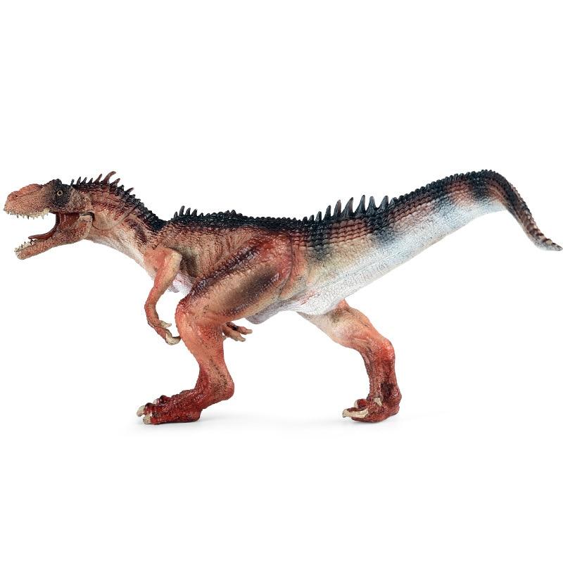 big size cute simulation fox toy resin Toy Figures Simulation Jurassic Dinosaur World Animal Model Big Size  Allosaurus PVC Action Figure Kids Educational Toys Gifts