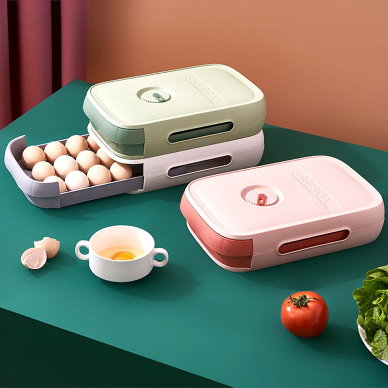 Сохраняющий свежесть яйцо Коробки ящик коробки для хранения Коробки сохраняющий свежесть Коробки с крышками кухонные коробки для хранения...