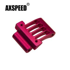AXSPEED 1Pcs Pink Metal Aluminum Alloy Motor Mount Heatsink for Sakura D3 1:10 RC Drifting Car Model Upgrade Parts
