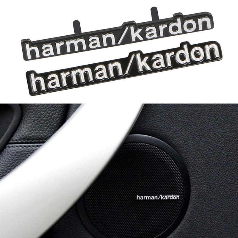 10pcs Car-styling car audio decorate fit harman kardon For BMW E46 E39 E60 E90 E36 F30 X5 E53 E34 E30 Cooper Lada Audio Speaker