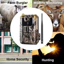 HC-900LTE 4G 16MP chasse Trail Vision nocturne SMS/MMS/SMTP/FTP caméra étanche 2 pouces écran haute définition appareil photo numérique