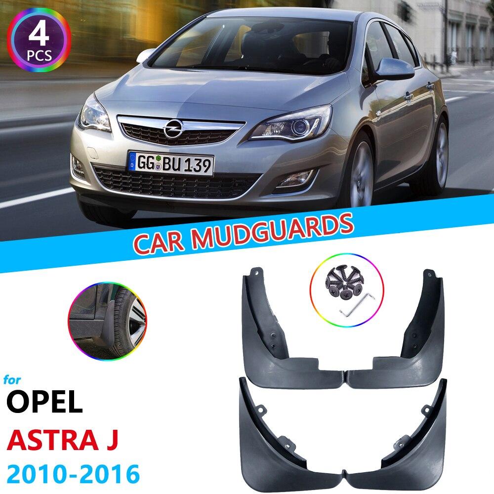 Guardabarros de coche para Opel Vauxhall Astra J Buick Verano 2010 2011 2012 2013 2014 2015 2016 guardafangos guardabarros