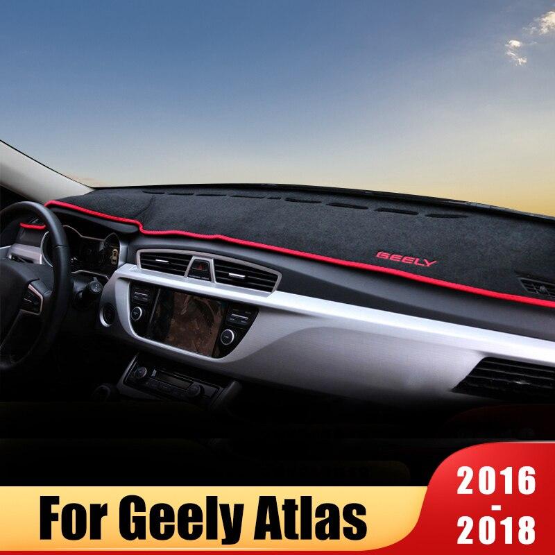 Приборная панель автомобиля, избегайте светильник, коврик, платформа, покрытие стола, коврики, ковры для GEELY Атлас 2016 2017 2018 аксессуары