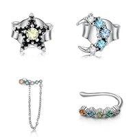 silverhoo 925 sterling silver jewelry set for women fine jewelry high quality cubic zircon lady jewelry set best selling gift