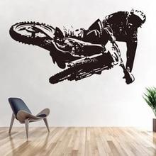 Autocollants muraux en vinyle   Autocollants de moto tout-terrain, autocollant de course pour véhicule de moto, autocollants de course Autocycle extrême