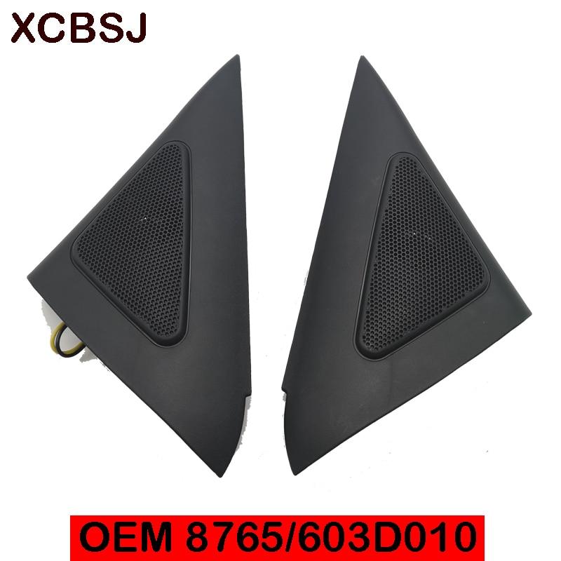 Tweeter Speaker set LH RH For hyundai Sonata EF 2002-2005  Treble head speaker cover 876503D010 876603D010 horn