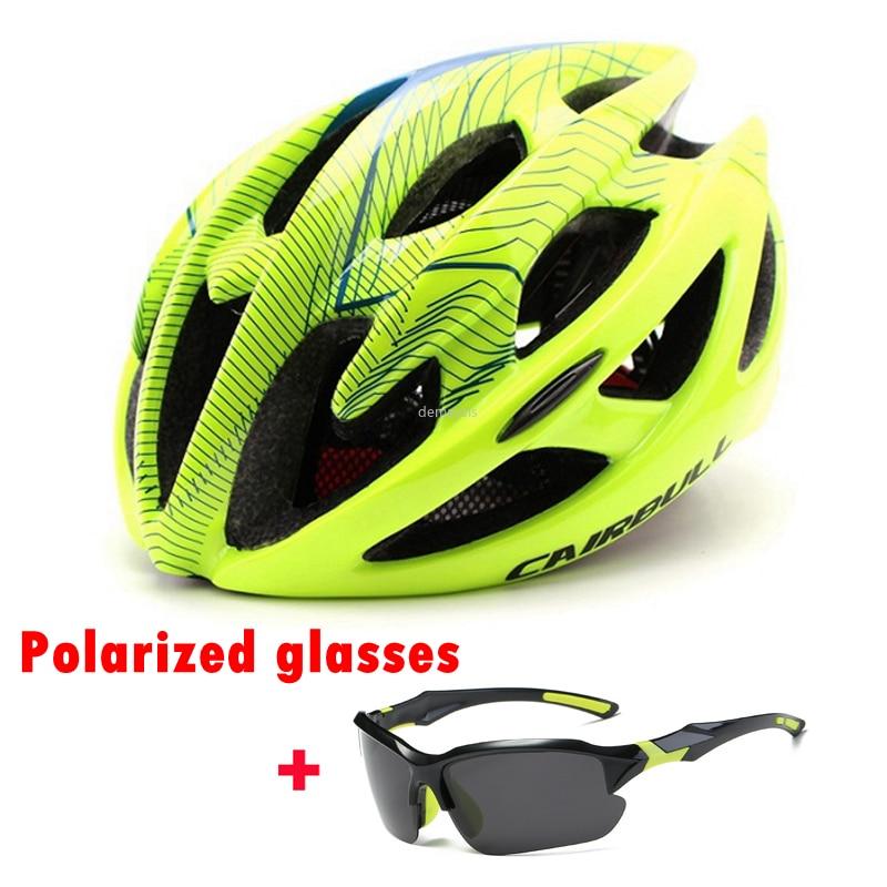 CAIRBULL Road Bike Helmet Ultralight Bicycle Helmets Men Women Mountain Bike Riding Cycling Integral