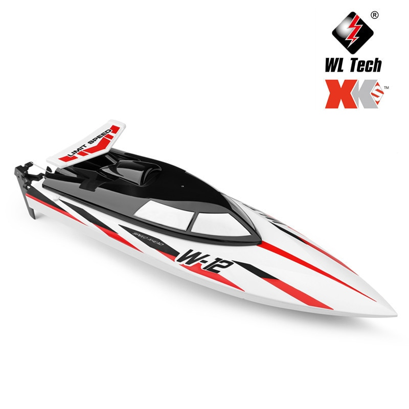 NEW WL912-A High Simulation Rc Boat Model 35Km/h Wireless High Speed 2.4G Remote Control Boat Anti-Rolling Toys Gift For Kids enlarge