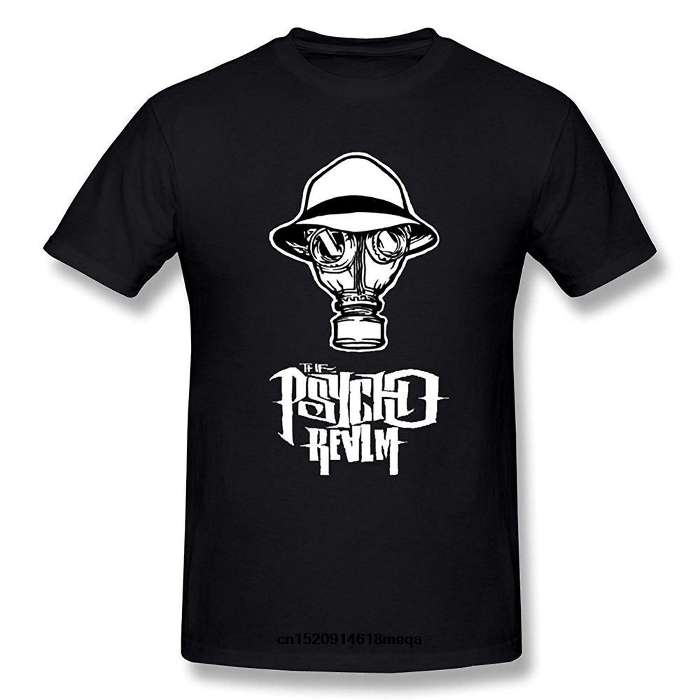 Camisetas divertidas WunoD The Psycho Realm camiseta de moda para hombres