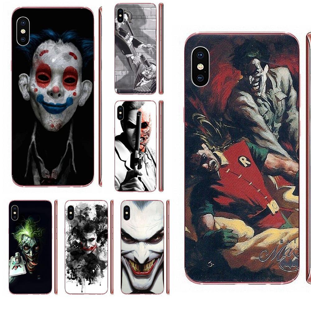 Harvey cara Marvel Joker Comp suave Capa para Samsung Galaxy J1 J3 J4 J5 J6 J7 A10 A20 A20E A3 A40 A5 A50 A7 2016 de 2017 a 2018