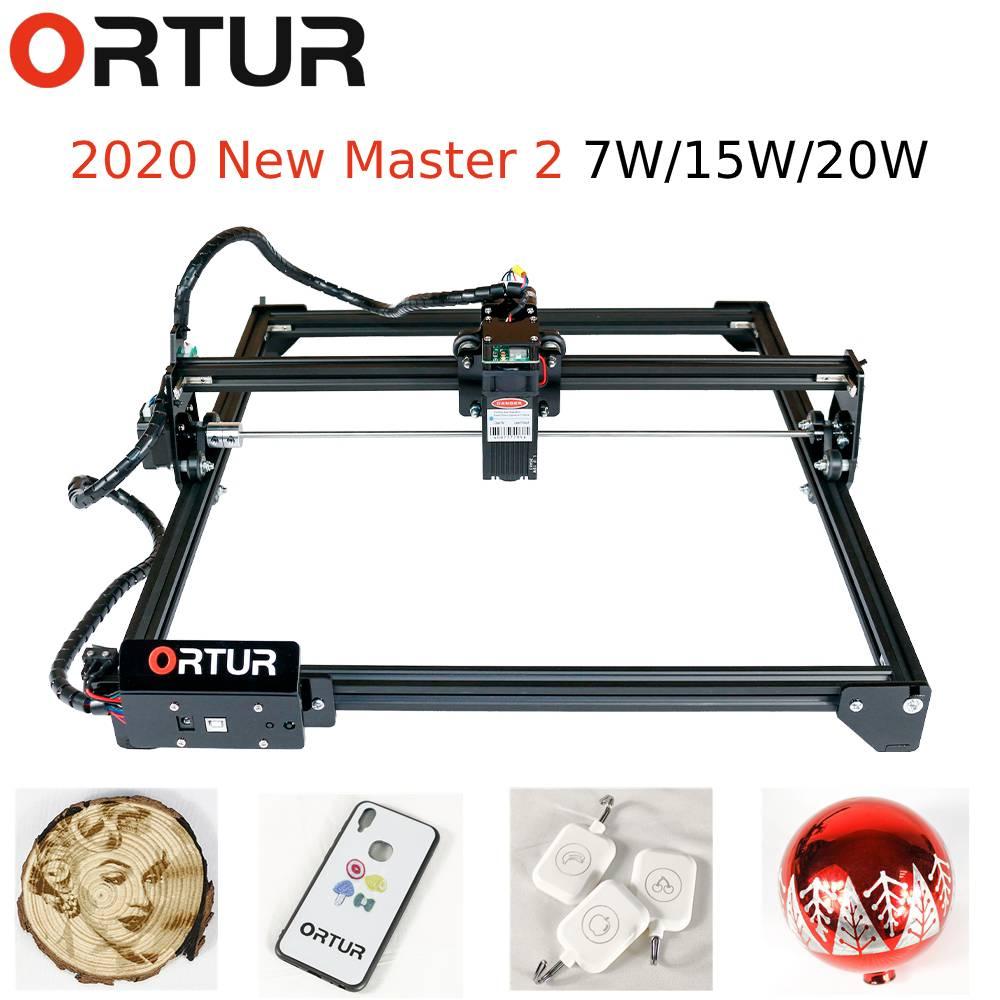ORTUR fábrica láser Master 2 15W7W20W máquina cortadora de grabado 32 bit placa base cortador grabado láser impresora CNC Router