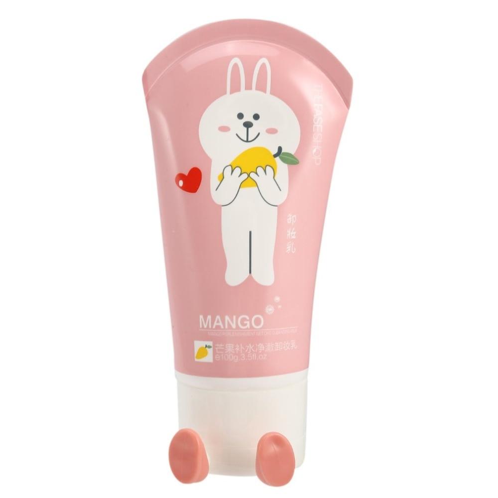 100g removedor de maquillaje Facial crema poros limpieza profunda Mango limón blanqueamiento Facial nutritivo limpiador piel cuidado Facial herramientas