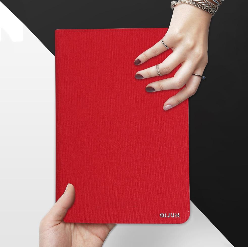 """Funda de QIJUN para Lenovo Tab P10, TB-X705L TB-X705F de 10,1 """", Fundas para tabletas con tapa para Tab P10 de 10,1 pulgadas, carcasa protectora blanda con soporte"""
