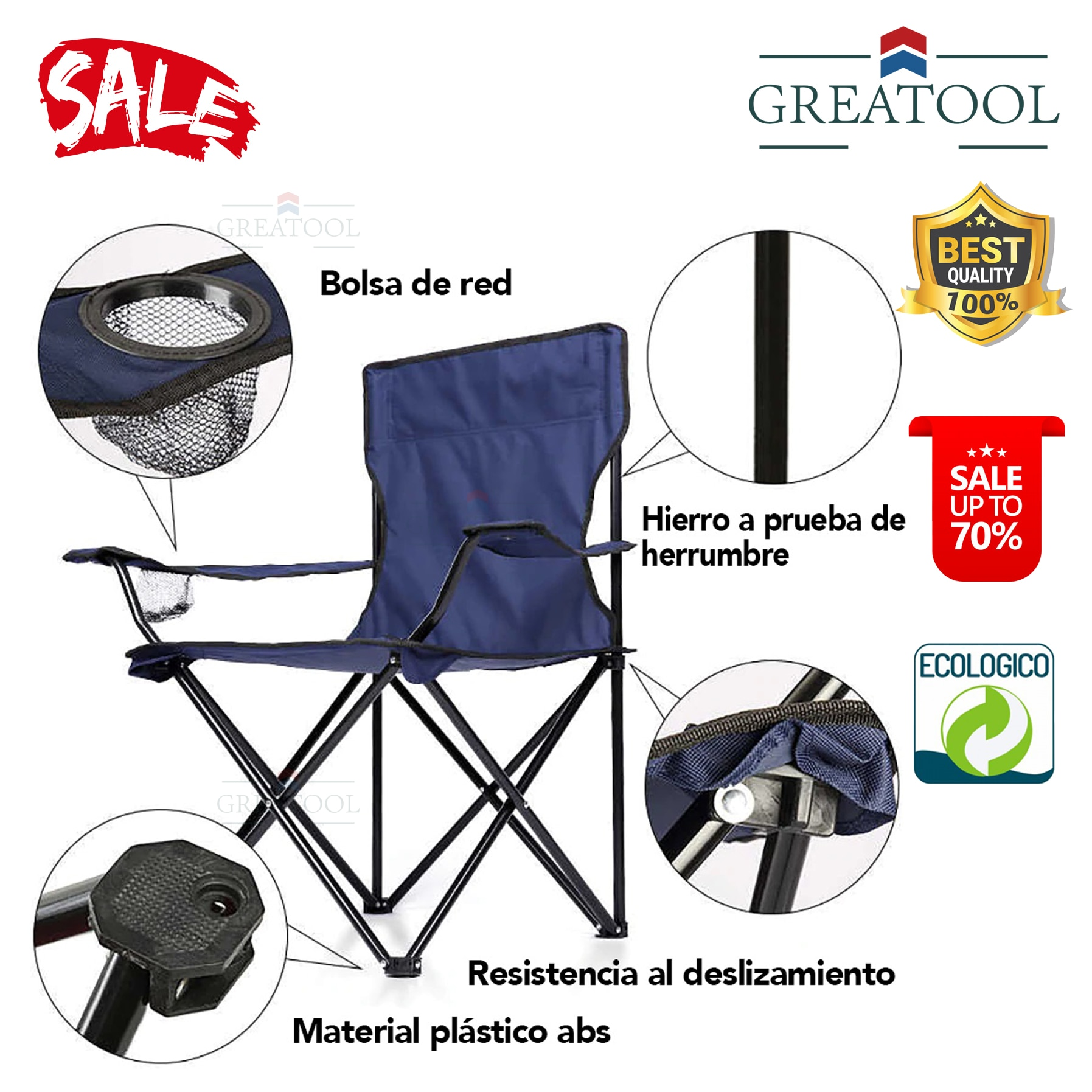 Ultralight Camping folding chair for Camping, portable outdoor fishing beach chair, aluminum alloy, Picnic Garden enlarge