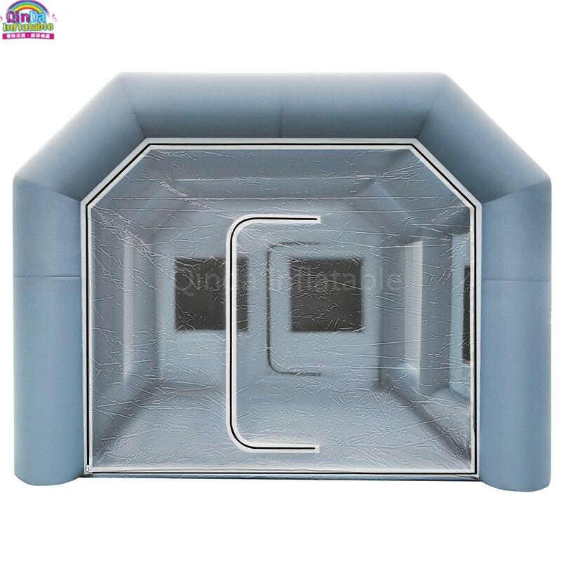 Envío Gratis, alta calidad, duradero, impermeable, inflable, pintura en aerosol, cubo con soplador