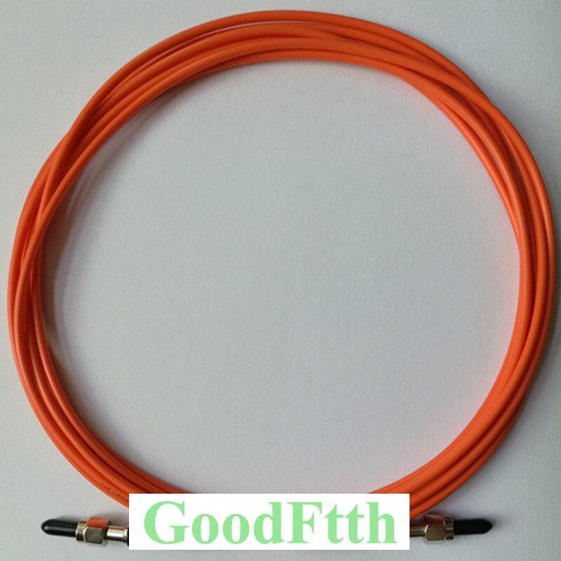 Cable de parche de fibra SMA905-SMA906 multimodo OM1 62,5/125 Simplex GoodFtth 20-100m
