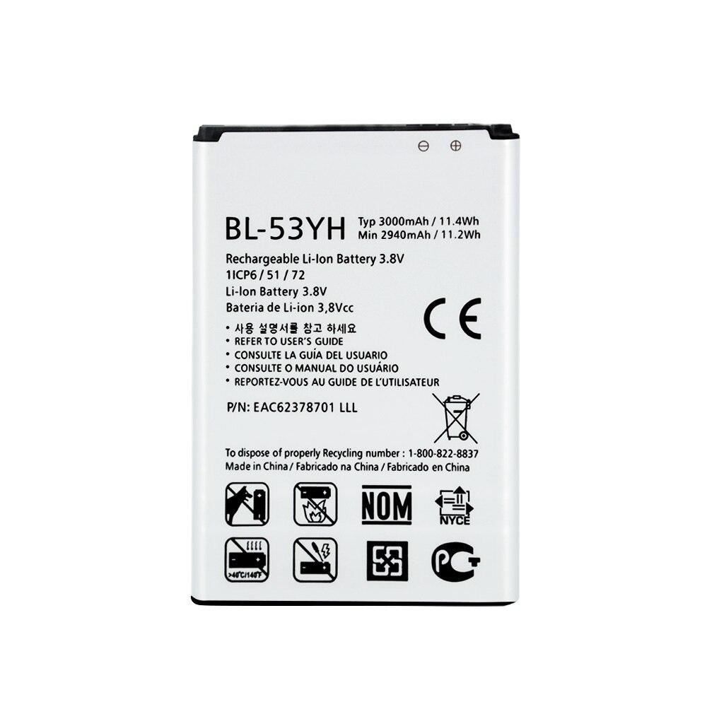 Аккумулятор для LG G3 D855 D850 D858 D859 F460, 3000 мАч