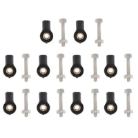 10 pieces m3 all head rod end for rc car truck accessories parts