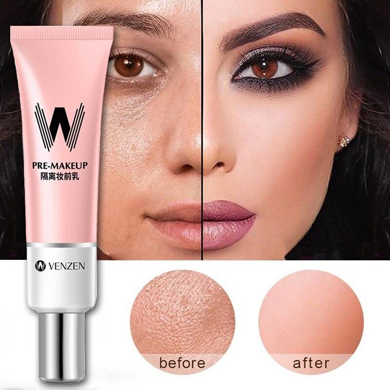 De larga duración primera capa Facial maquillaje corrector y Base de la esencia de Rosa poro a Base de Control de aceite Facial mate Primer coreano