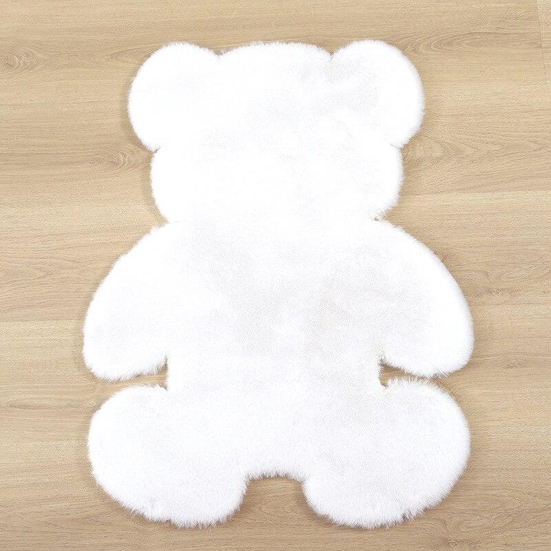 Soft Plush Bear Carpet For Living Room Baby Room Anti-slip Rug Bedroom Water Absorption Carpet Rugs Shaggy Home Floor Mat