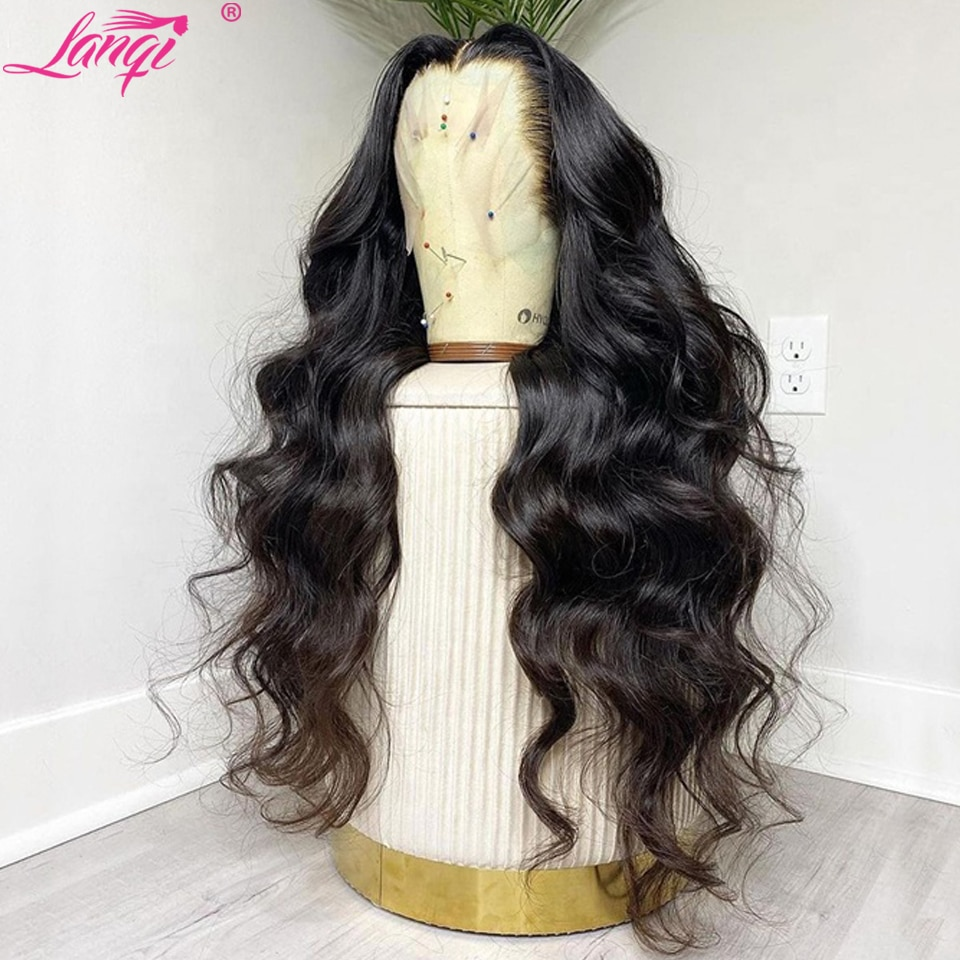 30 Inch Lace Front Wig Body Wave Lace Front Wigs For Women Human Hair Lace Frontal Wig Brazilian PrePlucked Bodywave Closure Wig