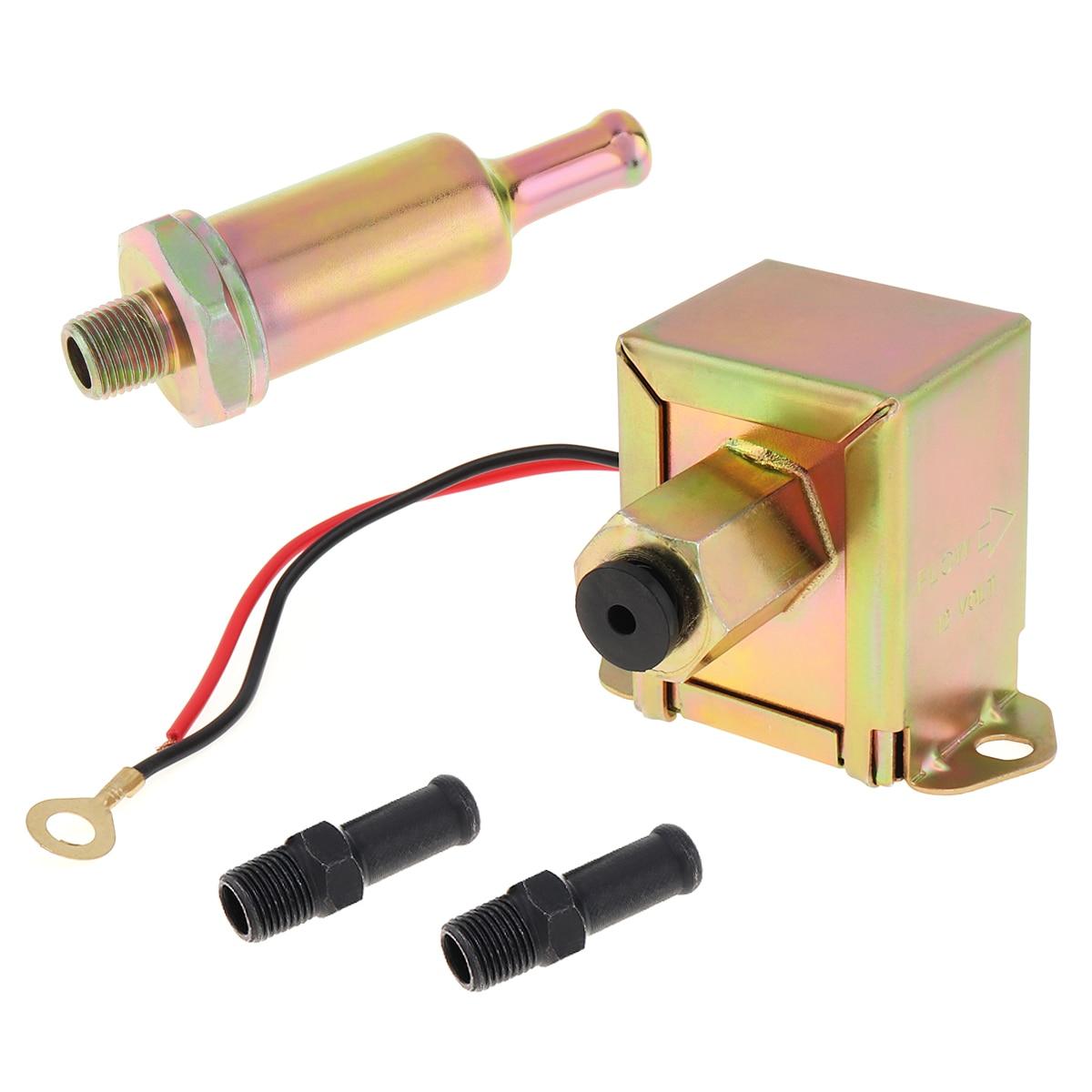 Bomba de combustible de Metal Universal de gasolina y gasolina de 12V 3797522 4299544 de baja presión con 2psi-6psi compatible con Toyota