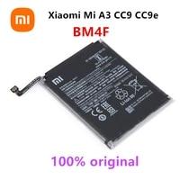 xiao mi 100 orginal bm4f 4030mah battery for xiaomi mi a3 cc9 cc9e mi 9 lite high quality phone replacement batteries