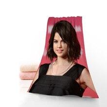 Beautiful Selena Gomez Towels Microfiber Fabric Bath Towels Travel,Beach,FaceTowel Custom Creative T