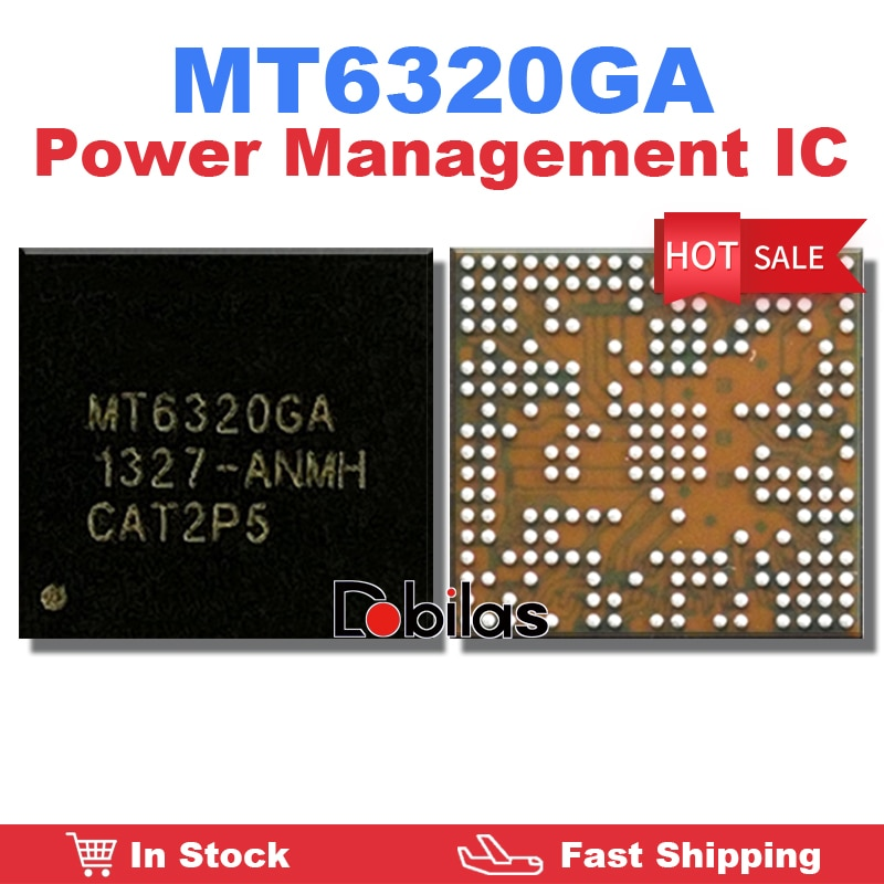 1Pcs/Lot MT6320GA BGA Power IC Power Management Supply Chip Mobile Phone Integrated Circuits Replace