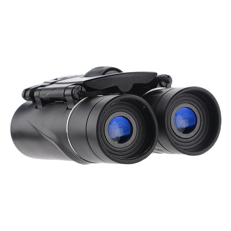 40x22 HD Zoom BAK4 FMC óptica binoculares potentes Profesional 2000m Mini telescópico para Deportes de caza viajes de Camping al aire libre