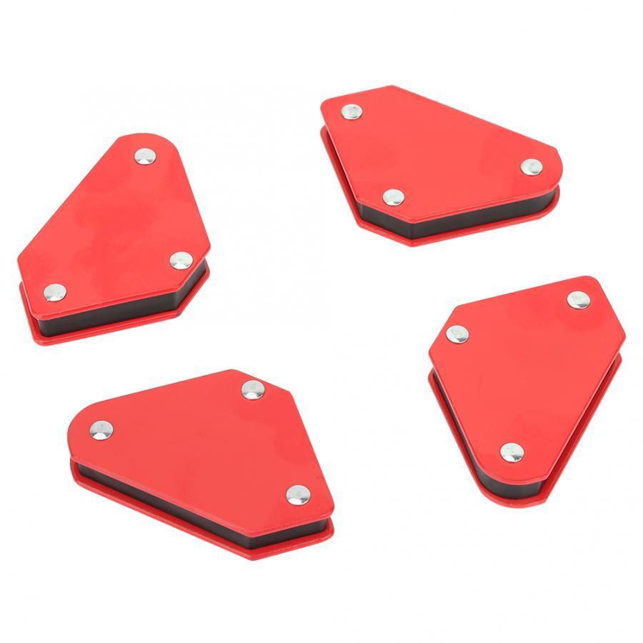 4Pcs 9LB Hoek Solderen Locator Magnetische Magneet Hoek Pijlen Lasser Lasapparaat Magneten Lassen Vaste 2020