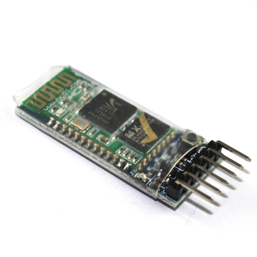 Фото - HC-05 HC 05 Bluetooth compatible module HC-06 HC 06 RF Wireless Transceiver Slave Module RS232/TTL to UART converter and adapter hc