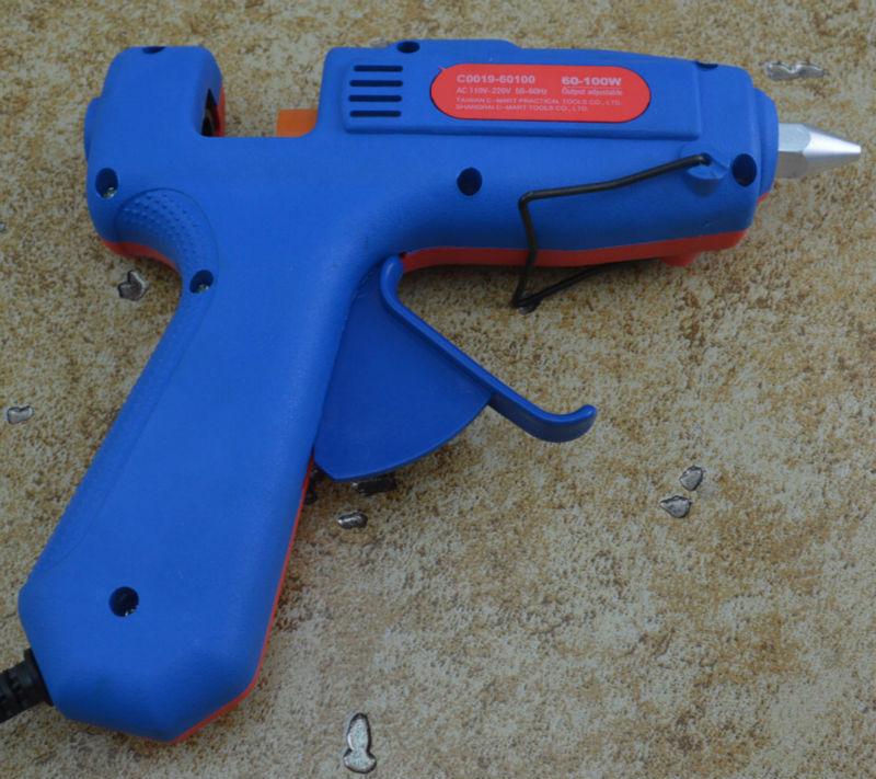 C-MART tool60~100W 110-240V Two step hot melt glue gun Professional Mini Electric Heating Hot Melt Glue Gun  Free Shipping C0019 enlarge
